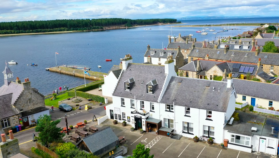 Crown and Anchor Findhorn